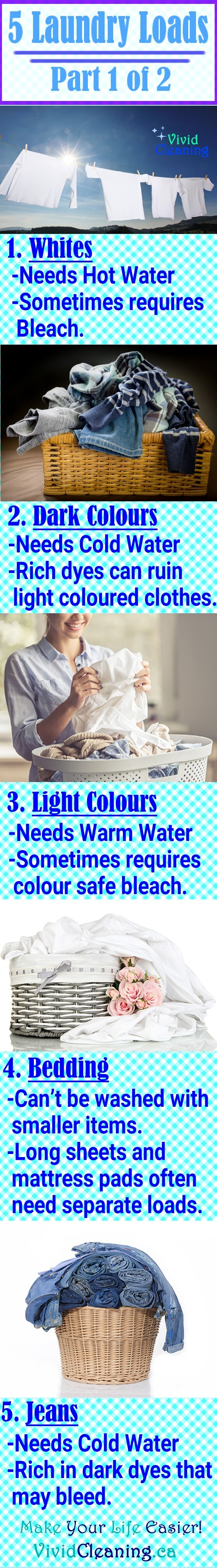 Do get the best laundry cleaning for your clothes you need to separate them by colour and weight. Some items have dyes that will seep into the washing water. Others have coarser material which will ruin finer material if they are washed together. Here are 5 laundry items that need separate washing loads.