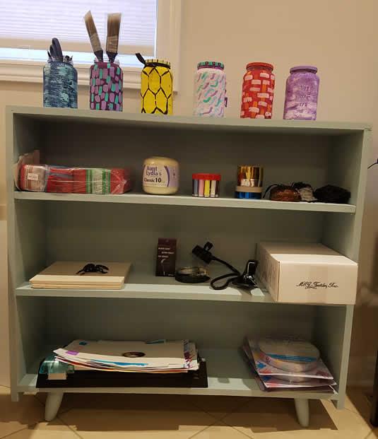 DIY Shelf Restoration and Refinishing